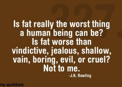 is fat really the worst thing