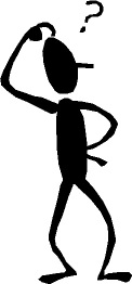 Image result for stickman scratching head