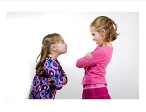 2 kids arguing