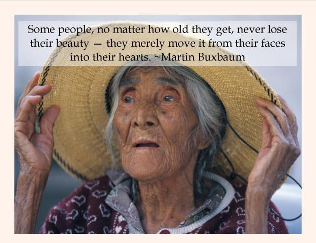 Beauty quote Brenda
